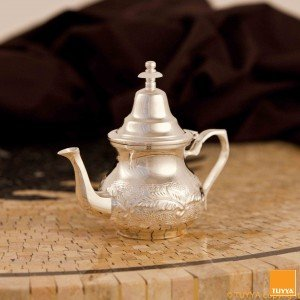 TEAPOT TRADITION SILVERPLATED FLORAL S2 NOLEGS