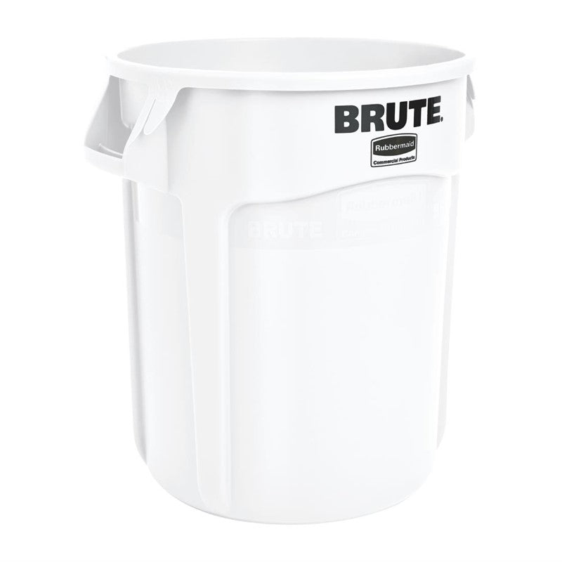 Rubbermaid Brute ronde container wit 75,7ltr