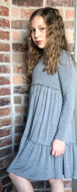 Grey Tier Dress