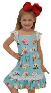 MICHELLE Toddler Camper Dress