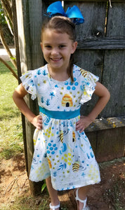 Ruffle Bee Dress