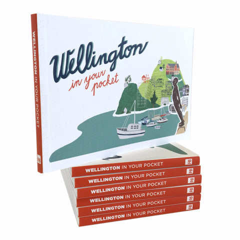 Wellington In Your Pocket - Grab a $10 illustrated slice of paradise!