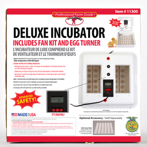 Little Giant 11300 Deluxe Incubator with Egg Turner