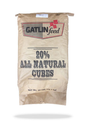 Gatlin Feed ™ All Natural Cubes