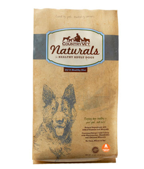 COUNTRY VET NATURALS DOG FOOD: HEALTHY DIET