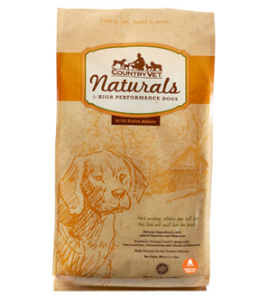 COUNTRY VET NATURALS DOG FOOD: ACTIVE ATHLETE
