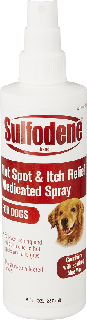 SULFODENE® Medicated Hot Spot & Itch Relief Spray