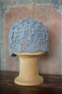 Women's Cashmere Toque w/ Engrave designs