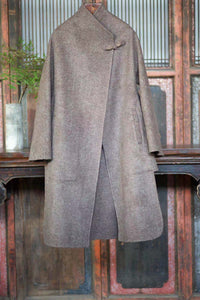Women's Cashmere Coat w/ Pipa Buckle