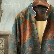 Load image into Gallery viewer, Women's  Gamberied Silk Bomber Jacket