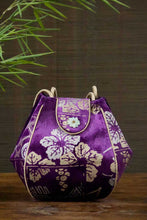 Load image into Gallery viewer, Ri Yue Silk Velvet Bag