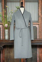 Load image into Gallery viewer, Women's Cashmere Long Coat w/ Loquat Button