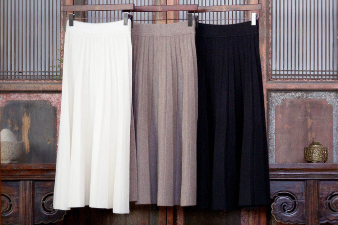 Women's Cashmere Knit Skirt