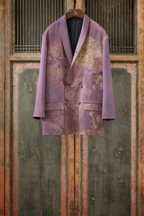 Women's Gamberied Silk Blazer