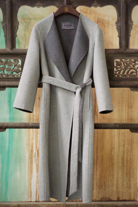 Women's Cashmere Coat w/ Belt