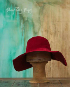 Angora Wool Hat Rouge