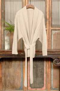 Women's Cashmere Cardigan Cream