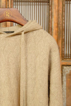 Load image into Gallery viewer, Women's Cashmere Hoodie Brown