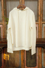 Load image into Gallery viewer, Women's Cashmere Hoodie White
