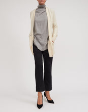 Load image into Gallery viewer, Women's Cashmere Cable Cardigan w/ MOP Buttons