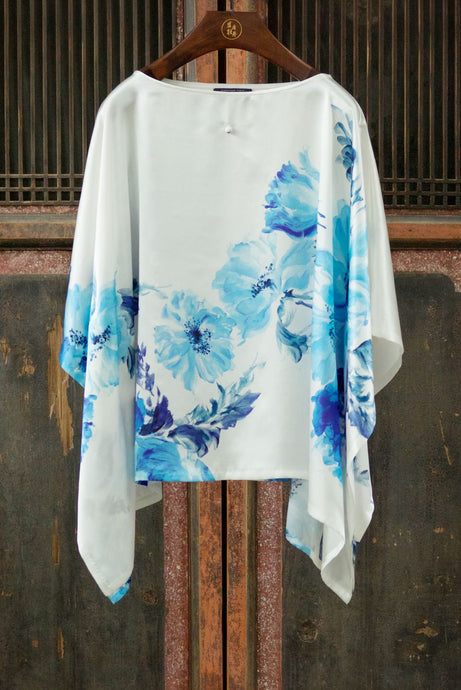 Women's Silk Cape Top