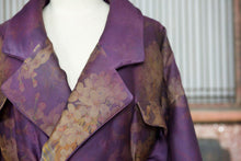 Load image into Gallery viewer, Women's Gamberied Silk Down Coat