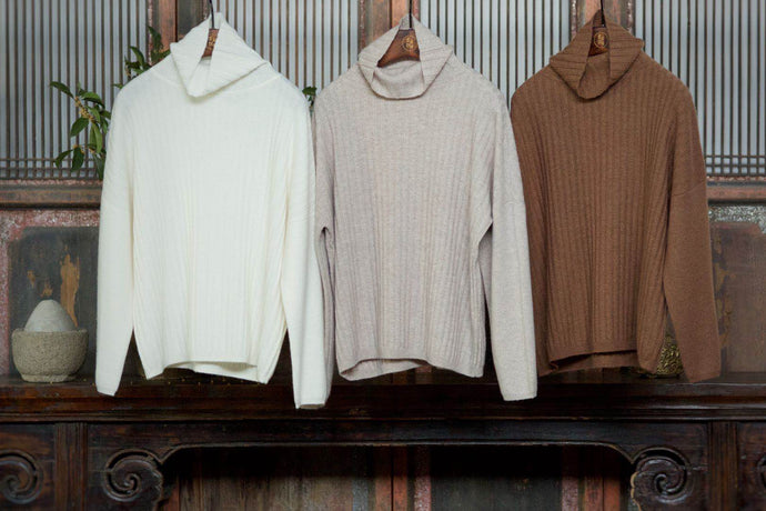 Women's Cashmere Knitted Sweater