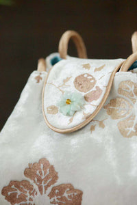 Ri Yue Silk Velvet Bag