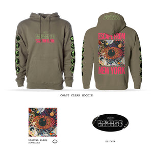 COAST CLEAR HOODIE + DIGITAL ALBUM DOWNLOAD BUNDLE