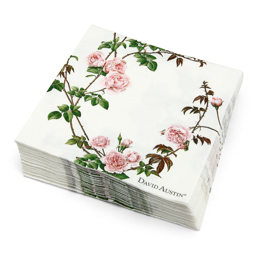 English Rose Paper Napkins
