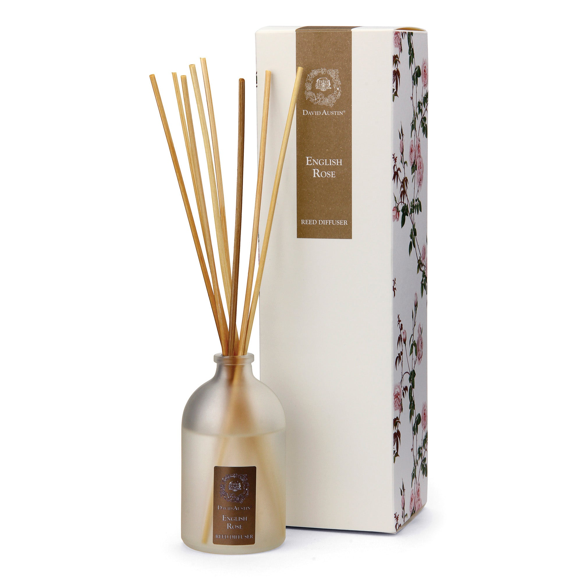 English Rose Reed Diffuser Home Fragrance Gifts