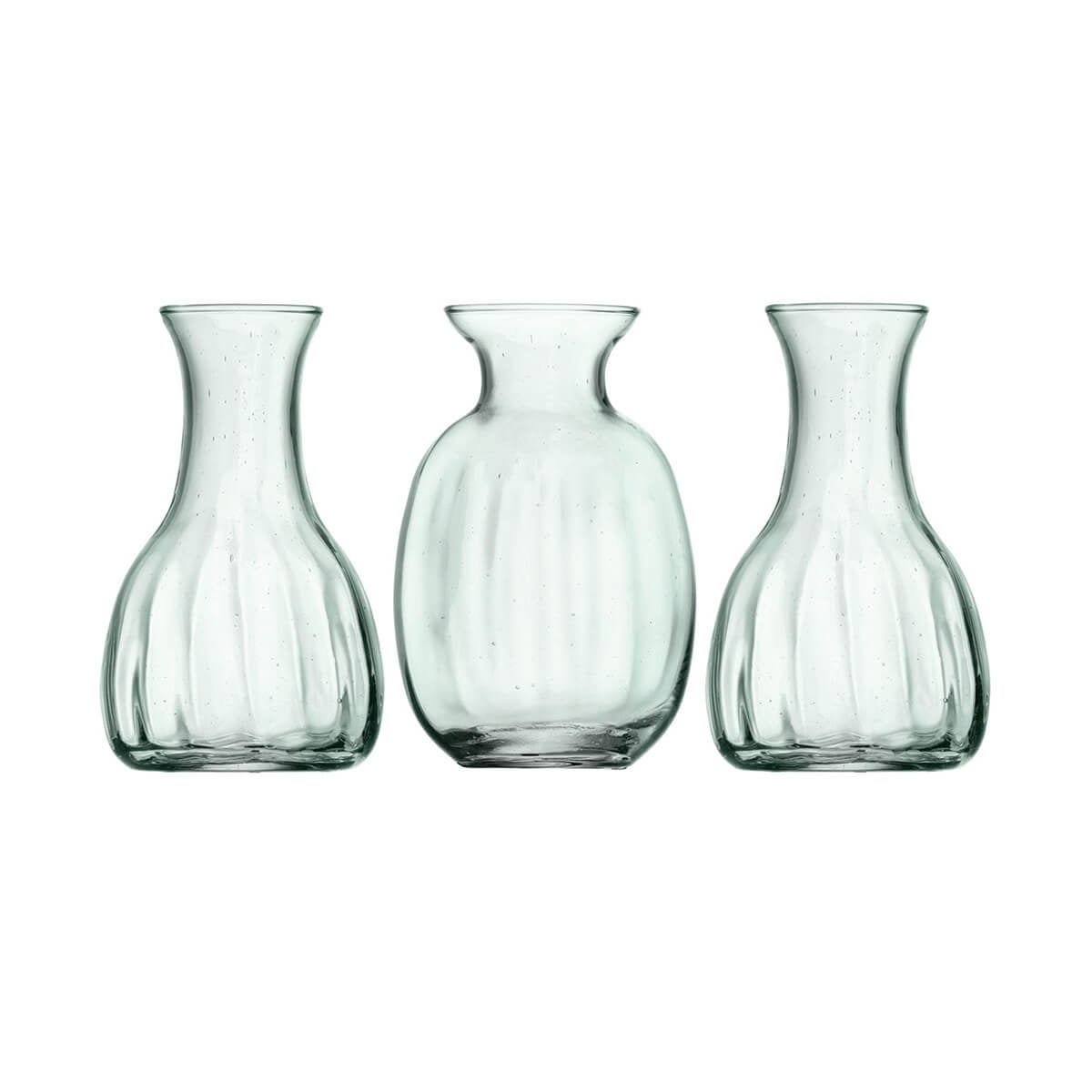 Trio of Mini Vases