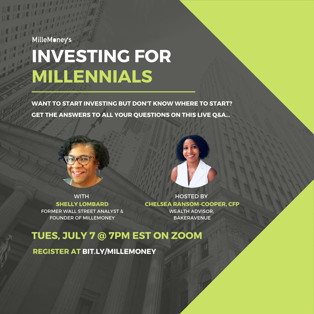 Investing for Millennials Webinar with live Q & A (recorded July 7, 2020)