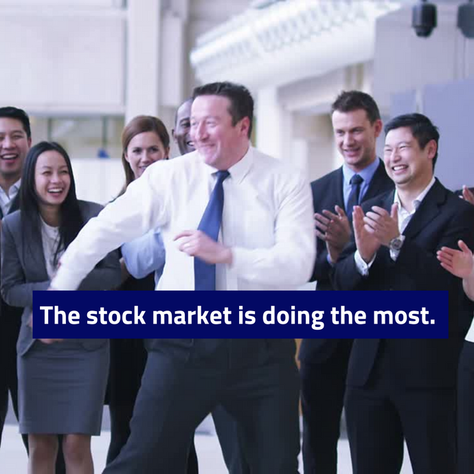 The Stock Market Is Doing THE Most Right Now.