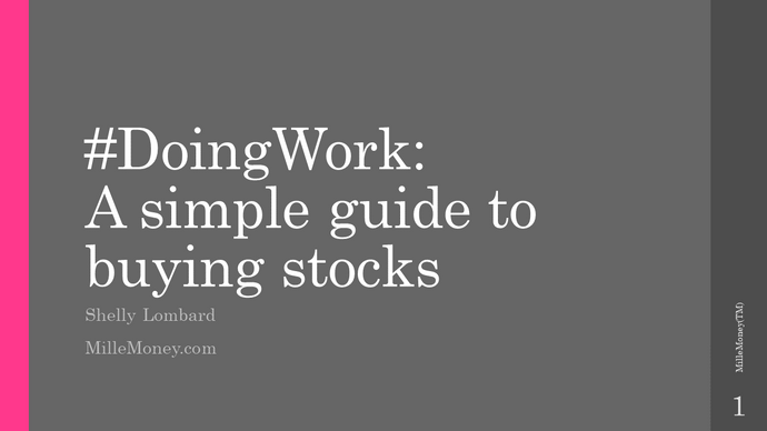 #DoingWork: A Simple Guide to Buying Stocks