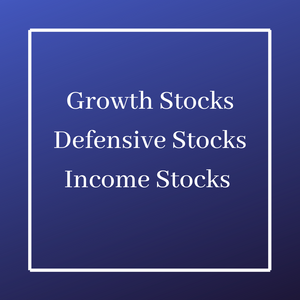 Growth Stocks, Defensive Stocks, Income Stocks - Which Ones Are You Comfortable With?