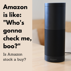 "Amazon Is Like: ""Who's Gonna Check Me, Boo?"" Should You Check Out Amazon Stock?"