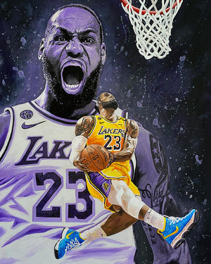 King James | Canvas Print
