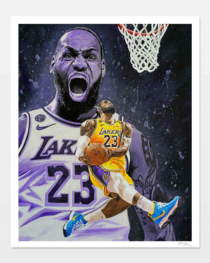 King James | Fine Art Print