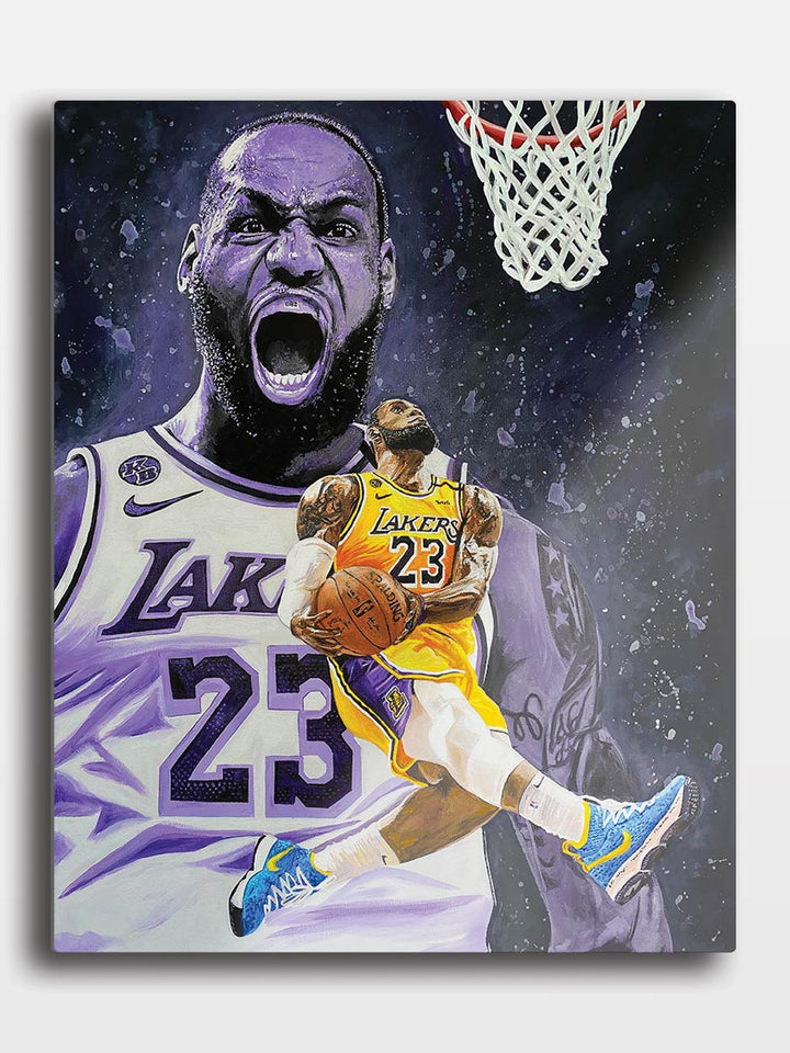 King James | Metal Print