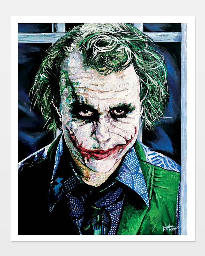 Why So Serious | Paper Print