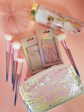 Load image into Gallery viewer, Spring Fling Sequin Makeup Bag - White