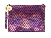Load image into Gallery viewer, Spring Fling Small Wristlet Makeup Pouch - Pink