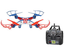 Load image into Gallery viewer, 33736Marvel-Licensed-Captain-America-Sky-Hero-2.4GHz-4.5CH-RC-Drone1