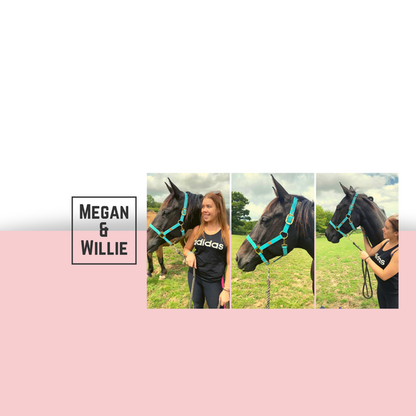 Best friends: Megan & Willie