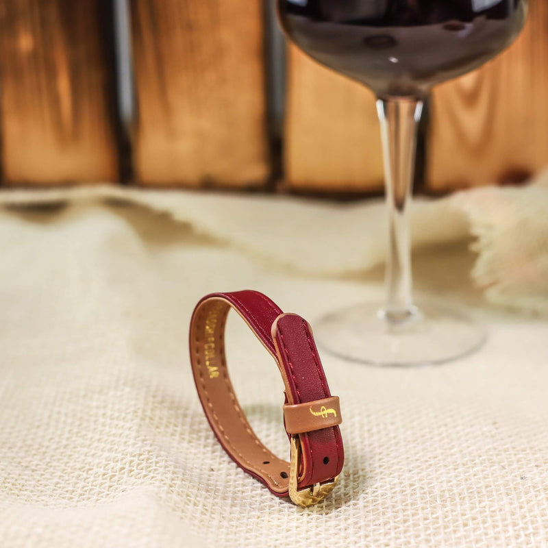 Extra Bracelet for The Classic Pup - Bordeaux