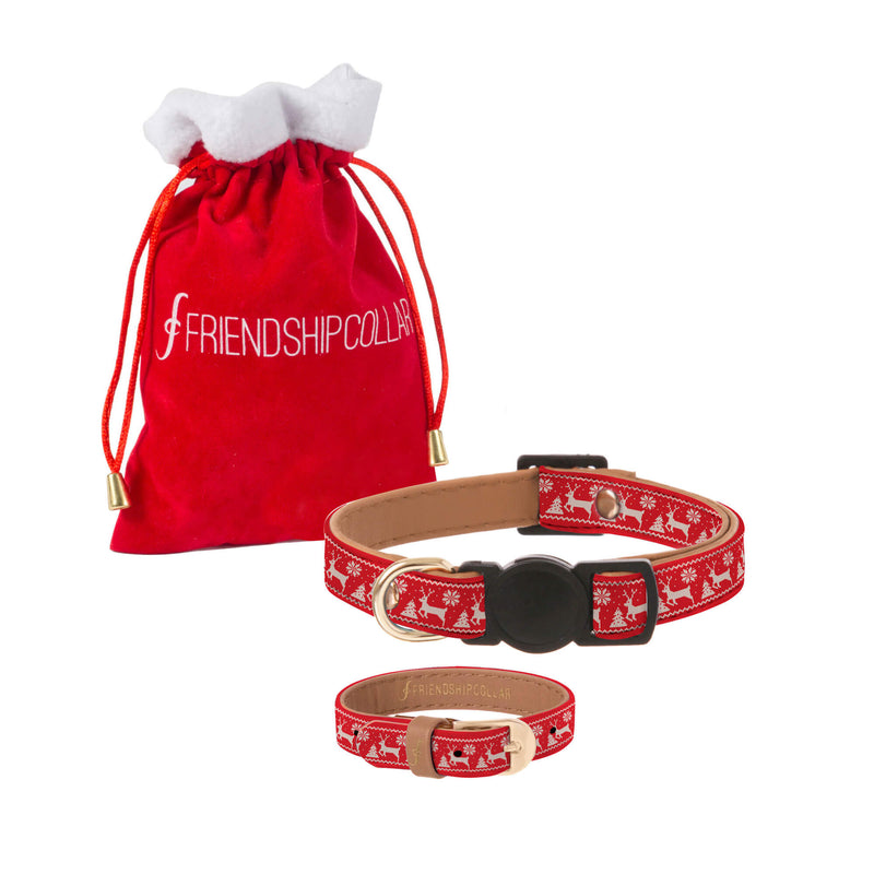 The Festive Bestie - Cat Collar