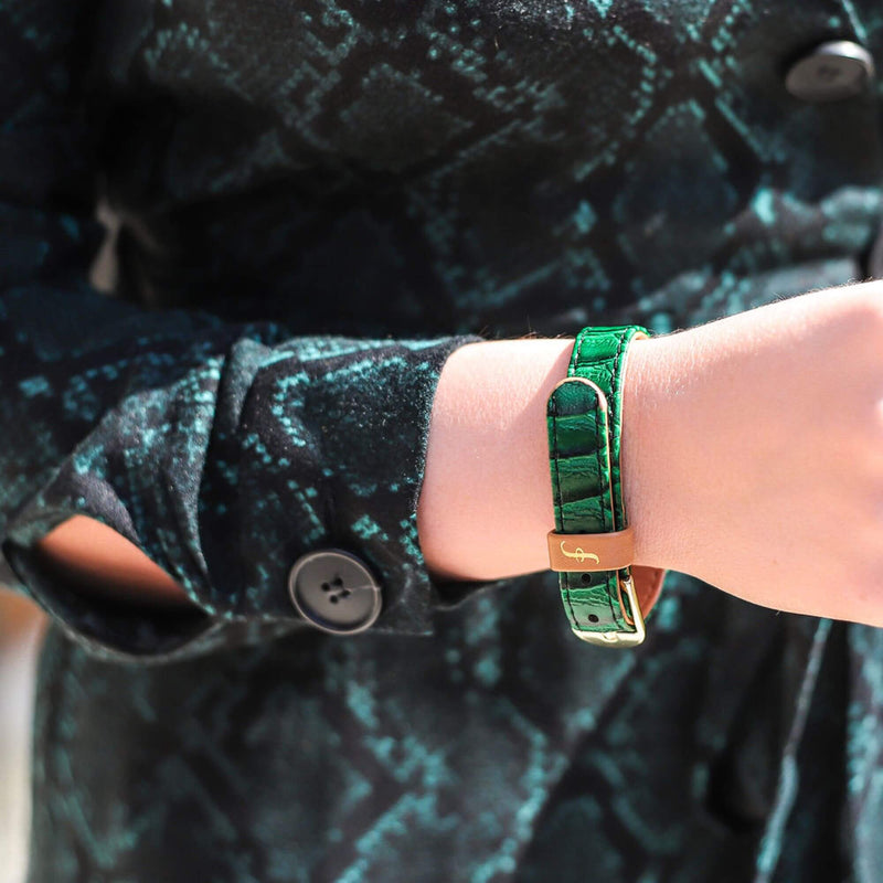 Extra Bracelet for Exotic-a-go-go! – Emerald Green