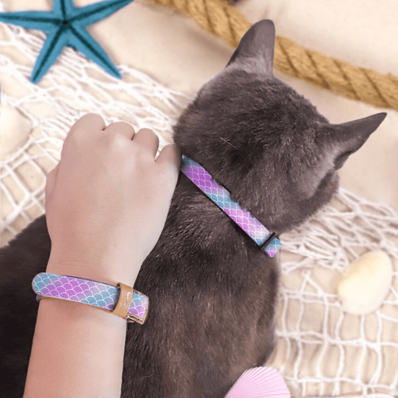 Mermaid Tails - Cat Collar