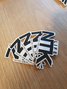 NTK Stickers x5